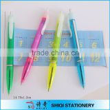 banner pen flag pen promotion pen with roll out paper