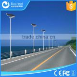 Factory Direct Source Smart Outdoor Led Street Light with Motion Sensor and Time Control