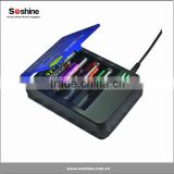 18650 battery charger/ rechargeable battery charger/Soshine SC-S1 Mix III for18650/16340(RCR123)/14500, etc