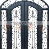 Front Entrance Iron Entry Door