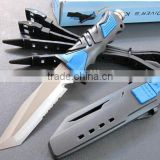 high quality Beta titanium scuba diving knife with sheath and straps