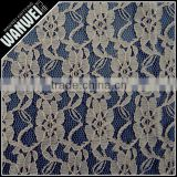 lace cheap bulk fabric fabric nigeria design very popular color teal blue guipure lace with beads 3101