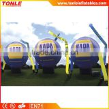 Inflatable Logo Globe/ Inflatable Logo Spheres/ inflatable floating advertising balloon