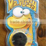 Original Package Black Color Mr Fuzzy Magic Worm Toy