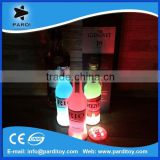 Light flashing LED bottle sticker coaster 3MM thickness                                                                         Quality Choice