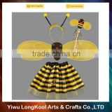 High quality wholesale kids party fairy wings set cosplay bee wings costume