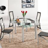 L801B Extendable Tables China Round Table Glass