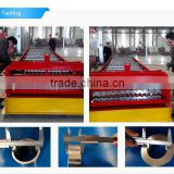 Wall Roofing Panel Roll Forming Machine With eccentric Cut-off for metal roofing and cladding/roof panel /steel tile machine