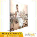 Frameless led panel outdoor light box with PVC cloth                                                                         Quality Choice