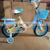 Manufacturing High quality children bike bicycle kids bike with training wheels and backseat
