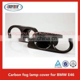 E46 fog lamp car foglight cover for BMW E46 M3 fog lamp cover