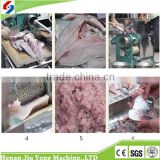 Fish meat scale removing/deboning/filleting separator machine