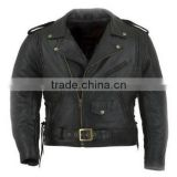 leather sleeves denim jacket for men , leather jacket , pakistan leather jacket , leather jacket wholesale , lady leather jacket