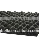 Acoustic Egg-Crate Foam Soundproof Foam Panel Black
