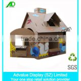 Cardboard Colorful Paper House