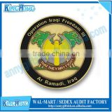 Military gold eagle replica 3D challenge coins