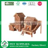 waterproof wooden acrylic hamster tunnels cages for sale