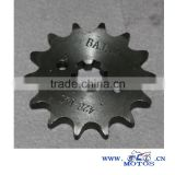 SCL-2013070184 China motorcycle chain sprocket for APACHE RTR180 motorcycle part