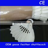 china factory oem brand yang yang 300B most durable goose feather badminton shuttlecock