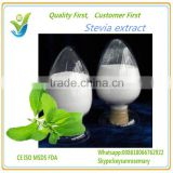 HACCP KOSHER FDA supplier sweetener food additive stevia leaf extract,stevioside 90%