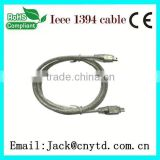 2013 New usb to firewire ieee 1394 4pin adapter cable