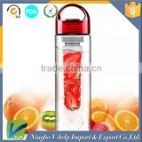 Sport Water Bottle With Fruit 700ml Fruit Infuser Fruit Infusing watter bottle Lemon Juice Maker bike travel school BPA Free