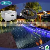 Fiber swimming pool light starry sky decoration using with LED driver and no electrical safety fiber