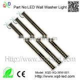 Outdoor/12W linear light/small led mini wall washer(IP66,CE,RoHS)