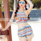 Wholesale 2016 New Design Summer Beach Fashion Women Mumbai Gypsy Sexy Tankini Swimsuit