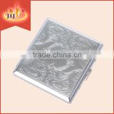 JL-064N Yiwu Jiju Metal Cigarette Case High Quality Decorative with Logo required Made in China High Quality