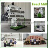 1-10t/h Poultry feed manufacturing equipment/1-5t.h Poultry feed processing equipment/Sinking fish feed production plant