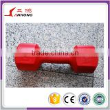 SANHONG manufacture high qualtiy commmericla gym equipment fitness accessory plastic dumbell