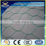 2015 new high quality roll of PVC Coated Chicken Wire mesh in Green Colour for protecting plants