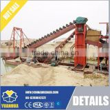 Dredging excavator Bucket chain dredger for gold dredging