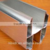 6000 series indoor Partition wall extruded aluminum u channel profiles