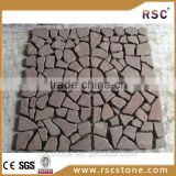 Paving granite stone cobbles from portugal;granite paving cubes;yellow granite paving stone