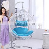 2016 fashion design rattan furniture hanging chair