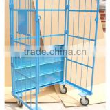 Powder Coated Folding Logistics Cart For South Koera And Japan