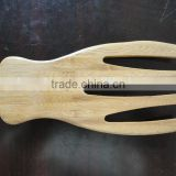 2017 wholesale custom bamboo salad hands set