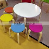 bend wood Chair for children export in hot sale
