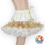 2016 Latest Design Pettiskirt Soft Touch Tutu Pettiskirt Fluffy Skirt Chiffon Pettiskirts For Baby Girls