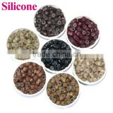 Silicone Micro Ring, Flared Copper Micro Beads For Keratin Hair Extension, Wholesale Hair Salon Equipment