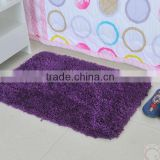 Durable and Quick-drying microfiber washable kitchen rugs,luxury bath carpet rubber backed rugs