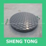 UHMW-PE heavy loading crane outrigger pads ,square hdpe crane foot pad