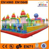 children large inflatable balloon playground on sale