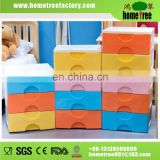 Colorful 3 Layers Waterproof Sample Tall Thin Storage Cabinets With 2 Handles