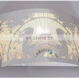 Wholesale stainless steel fabric table lamp shades metal frame for floor lamps