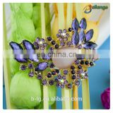 Women evening dress decorate big size fashional rhinestone brooch
