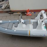 5.8m inflatable rib boat with teak floor RIB580 with CE