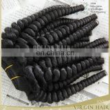 Unprocessed virgin human hair weft indian hair weaving 100% natural indian human hair price list